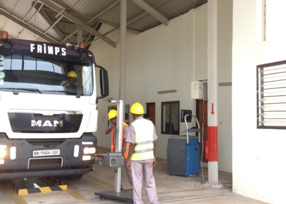 Bulk road vehicle inspection (BRV)