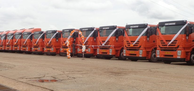 Launch of Latest Fleet of Trucks (2015)