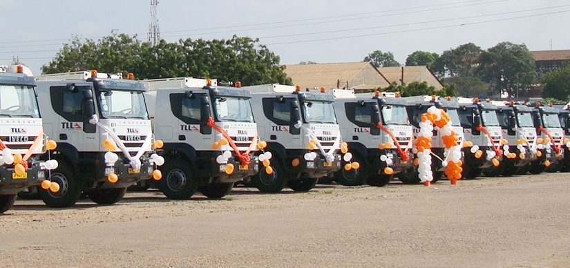 Launch of New Fleet of Trucks