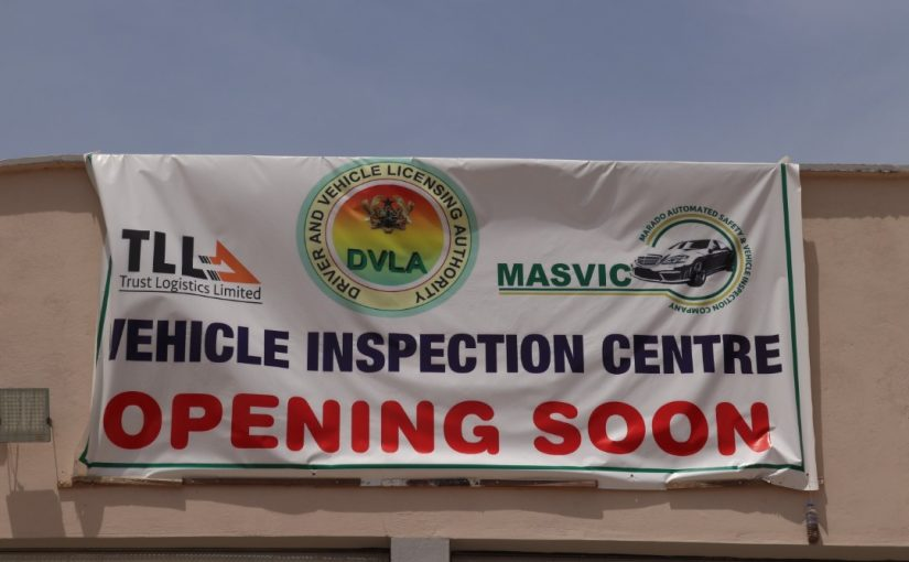 DVLA Vehicle inspection centre at Trust Logistics is 80% completed